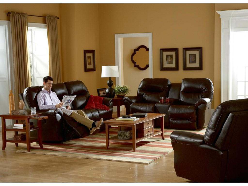 Shown with Coordinating Console Loveseat and Reclining Chair