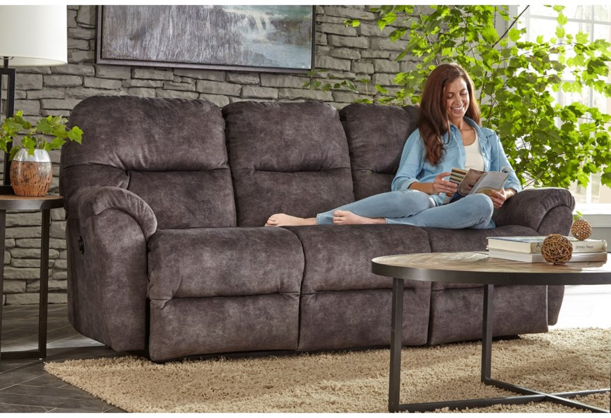 Best Home Furnishings Bodie S760RP4 Power Reclining Sofa ...