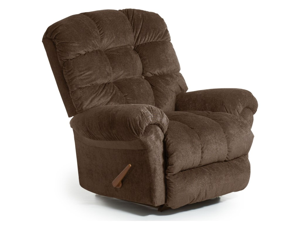 Best Home Furnishings Recliners - BodyRestDenton BodyRest Rocker Recliner