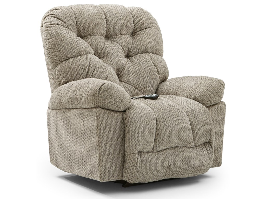Best Home Furnishings BoltPower Swivel Glider Recliner