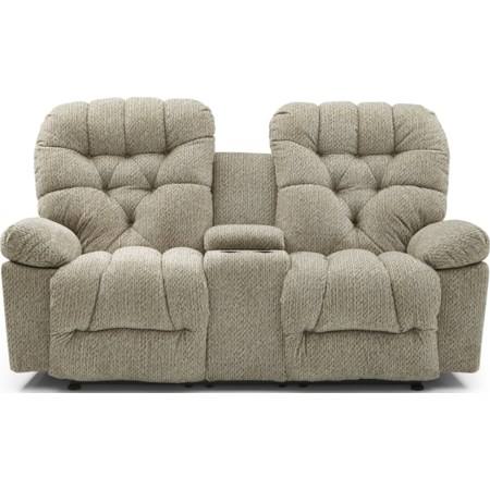 Space Saving Console Loveseat