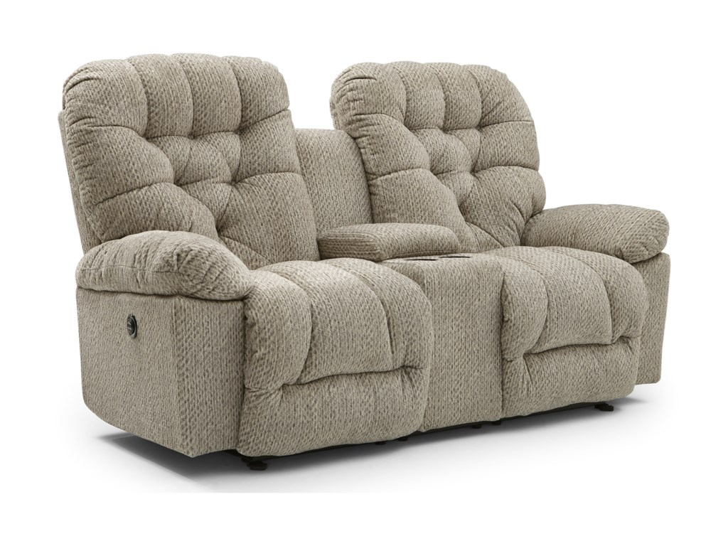 Best Home Furnishings BoltPower Space Saving Console Loveseat