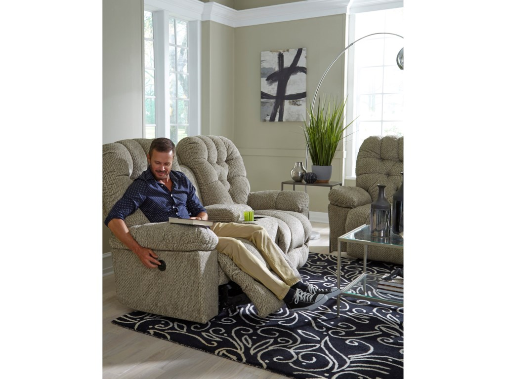 Best Home Furnishings BoltSpace Saving Console Loveseat