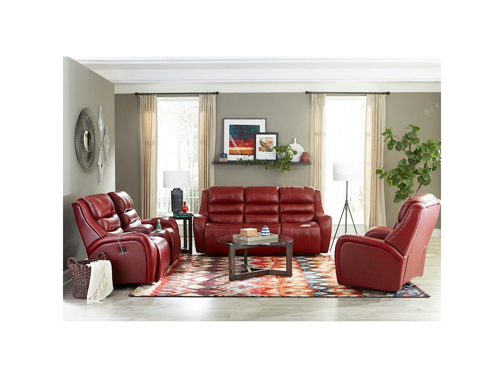 Best Home Furnishings BosleyPower Tilt Headrest Space Saver Console Love