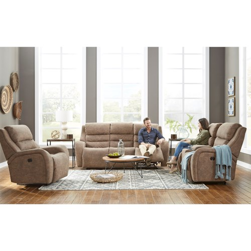 Best Home Furnishings Bosley Reclining Living Room Group