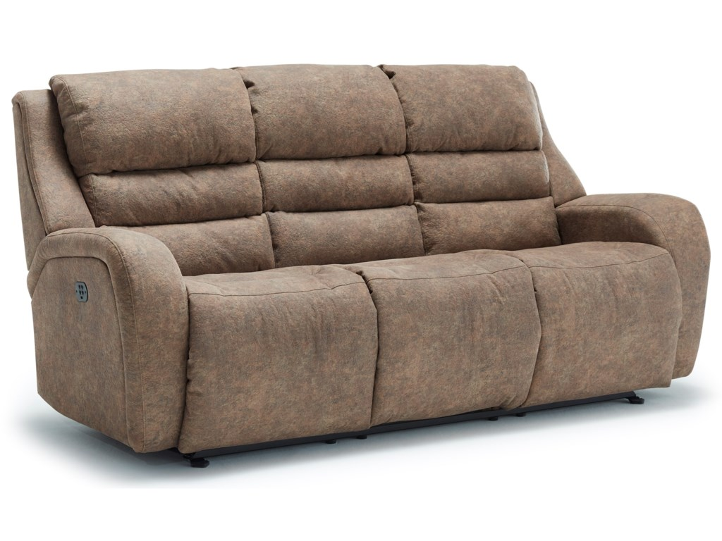Hercules Modern Power Space Saver Reclining Sofa With Power Tilt