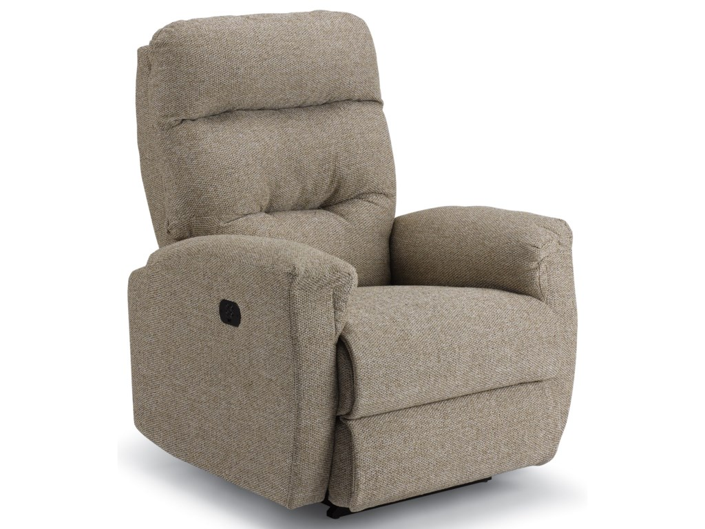 Best Home Furnishings BrinkPower Space Saver Recliner with Pwr Headrest