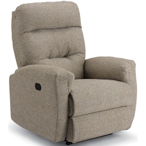 Best Home Furnishings Brink Petite Power Rocker Recliner