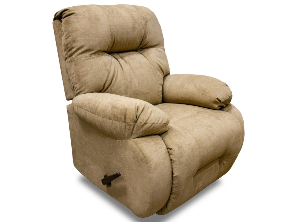 Best Home Furnishings Brinley 2Brinley2 Khaki Rocker Recliner in Opticlean