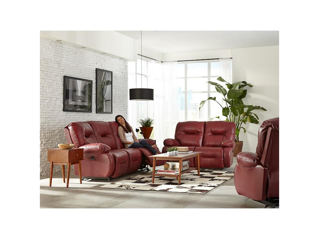 Best Home Furnishings Brinley 2Reclining Loveseat