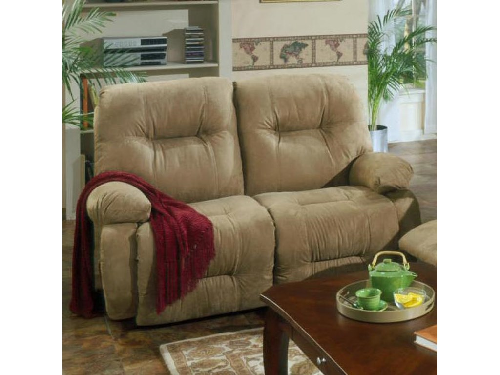 Best Home Furnishings Brinley 2Power Reclining Loveseat