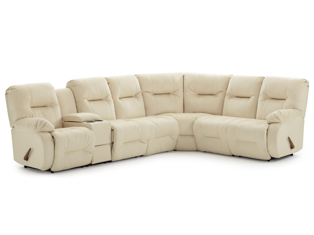 Best Home Furnishings Brinley 2Reclining Sectional Sofa