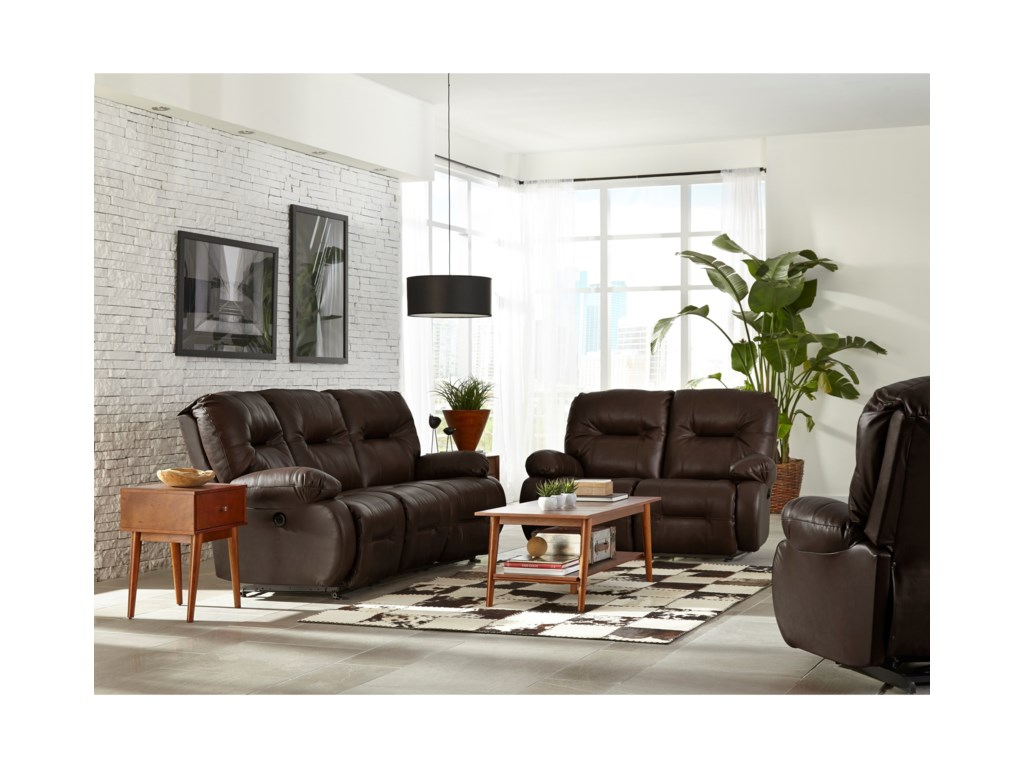 Best Home Furnishings Brinley 2Power Reclining Sofa