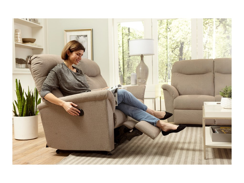 Best Home Furnishings CaitlinPower Rocking Reclining Console Loveseat