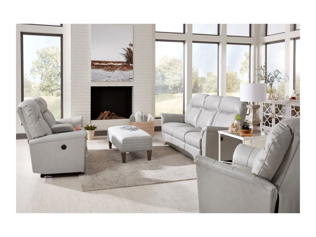 Best Home Furnishings CaitlinPower Reclining Living Room Group
