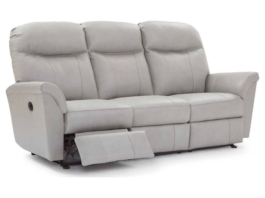Best Home Furnishings CaitlinReclining Space Saver Sofa