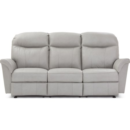 Power Headrest Reclining Space Saver Sofa