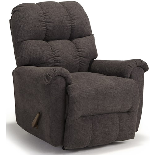 Best Home Furnishings Camryn BHF Casual Plush Power Space Saver Recliner