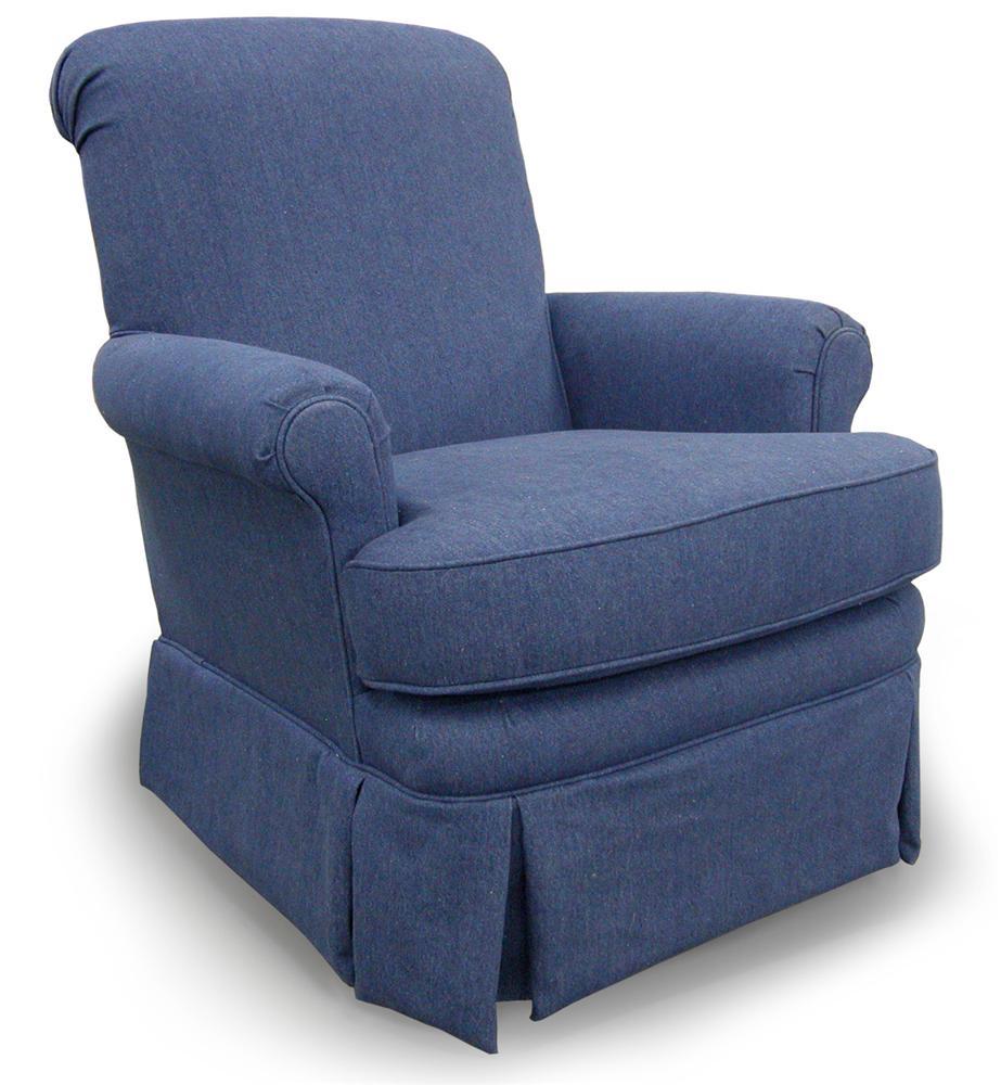 Best Home Furnishings Swivel Glide Chairs 1217 Nava Swivel