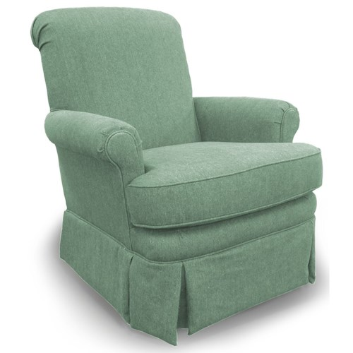 Best Home Furnishings Chairs - Swivel Glide Nava Swivel Glider Chair