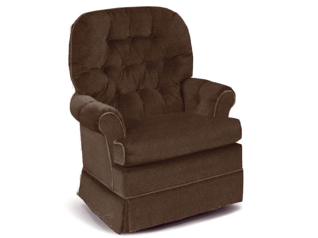 Best Home Furnishings Chairs Swivel Glide Espresso