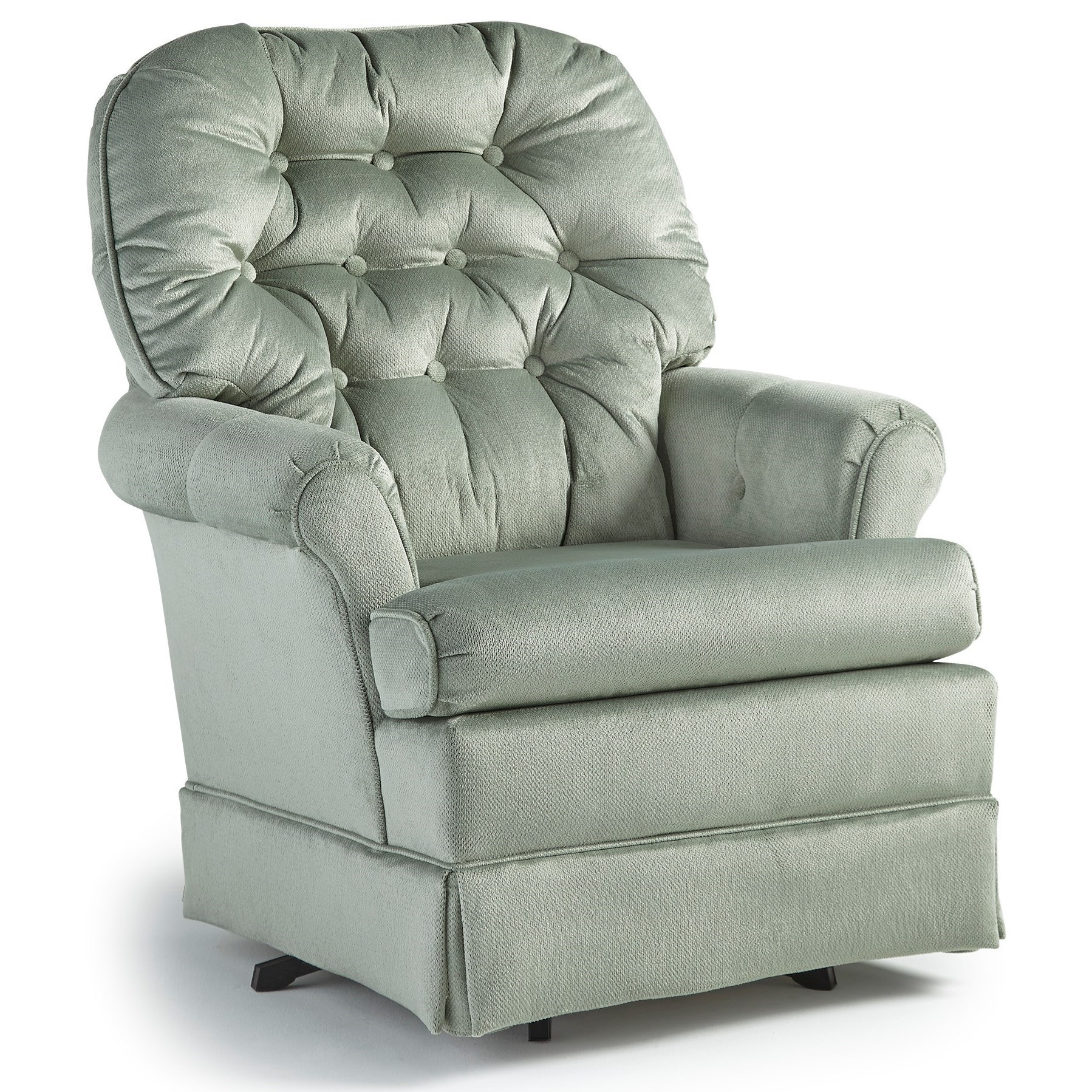 Best Home Furnishings Chairs - Swivel Glide Marla Swivel ...