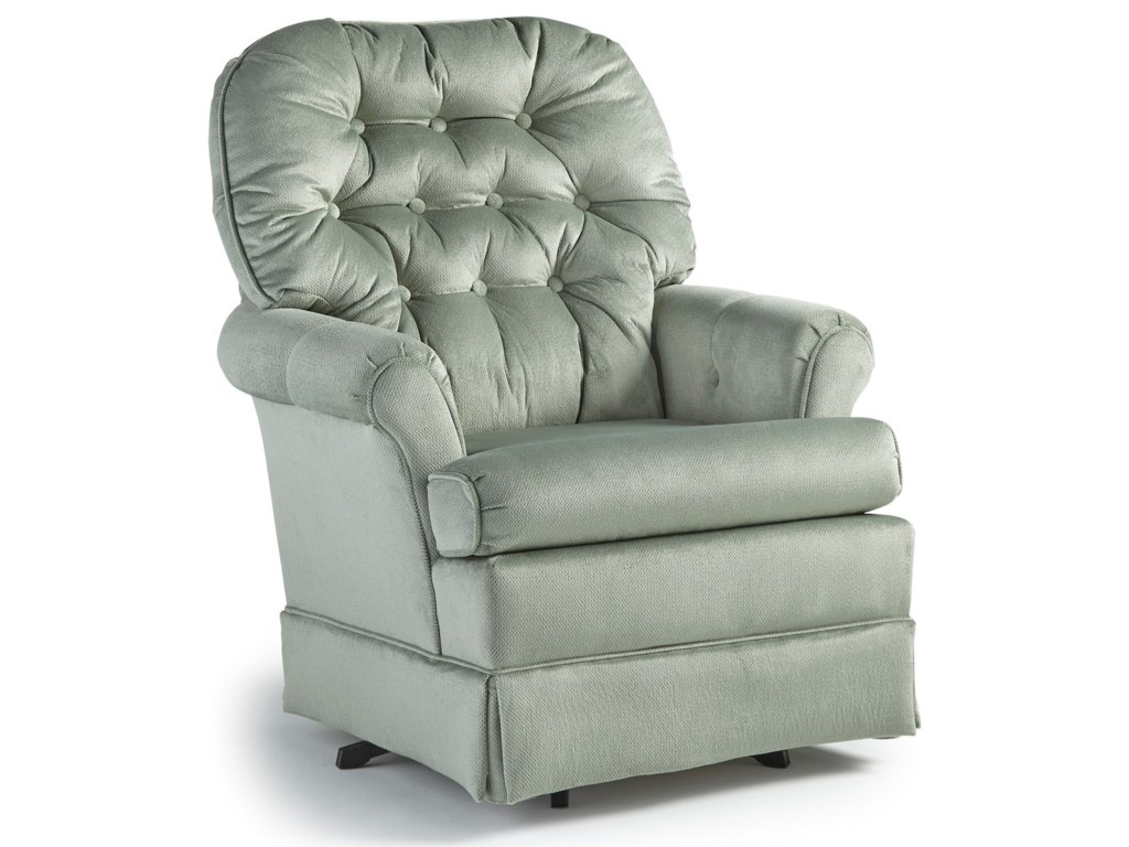 Studio 47 Swivel Glide ChairsMarla Swivel Rocker Chair