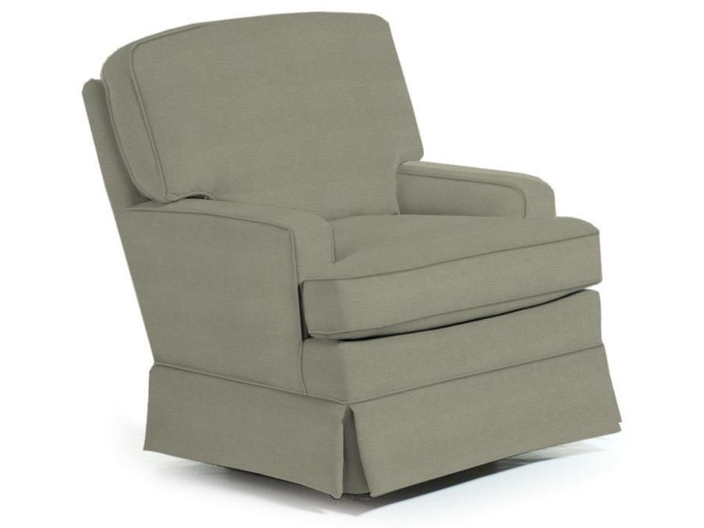 Best Home Furnishings Swivel Glide ChairsRena Swivel Glide