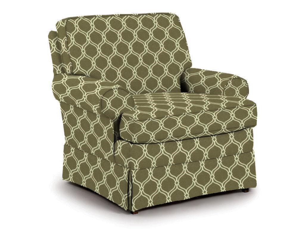 Best Home Furnishings Swivel Glide Chairs Quinn Glider Chair