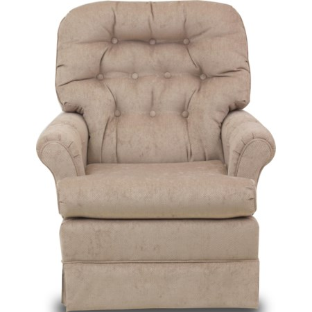 Marla Swivel Rocker Chair