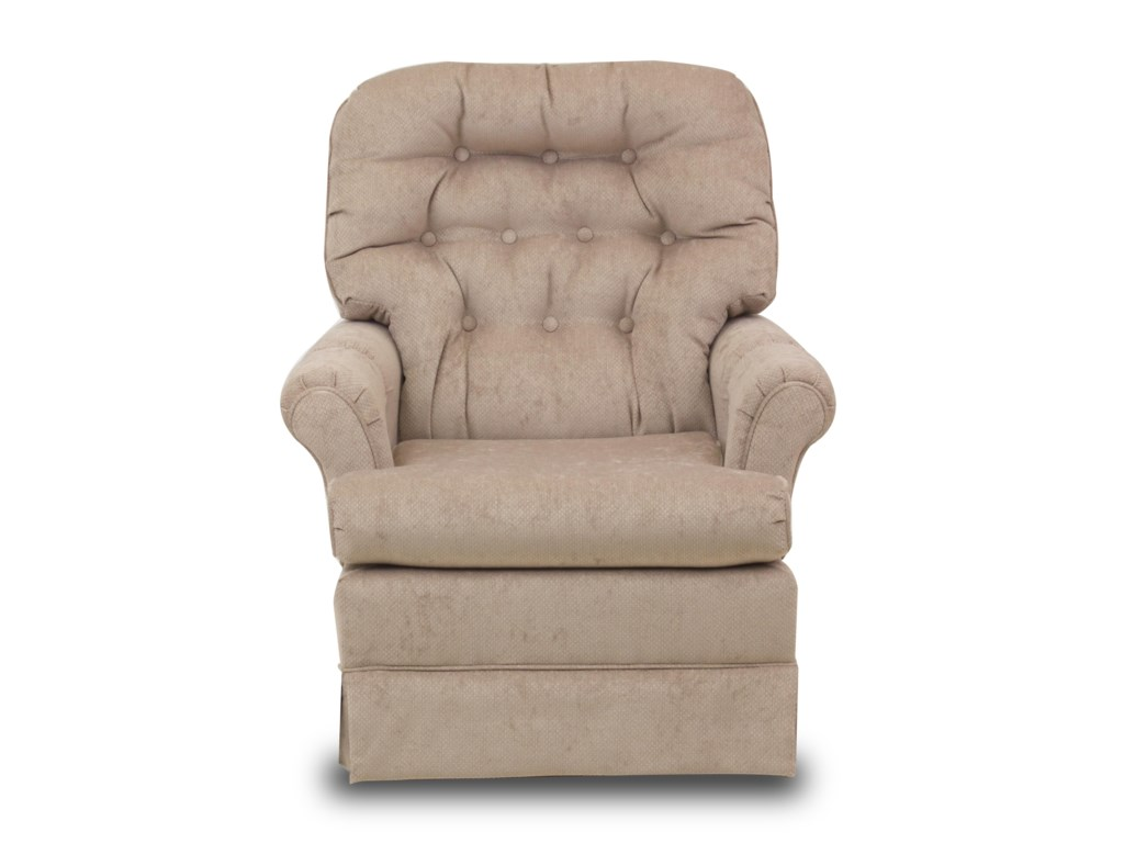 Swivel glide chairs marla swivel rocker chair ruby gordon home upholstered chairs