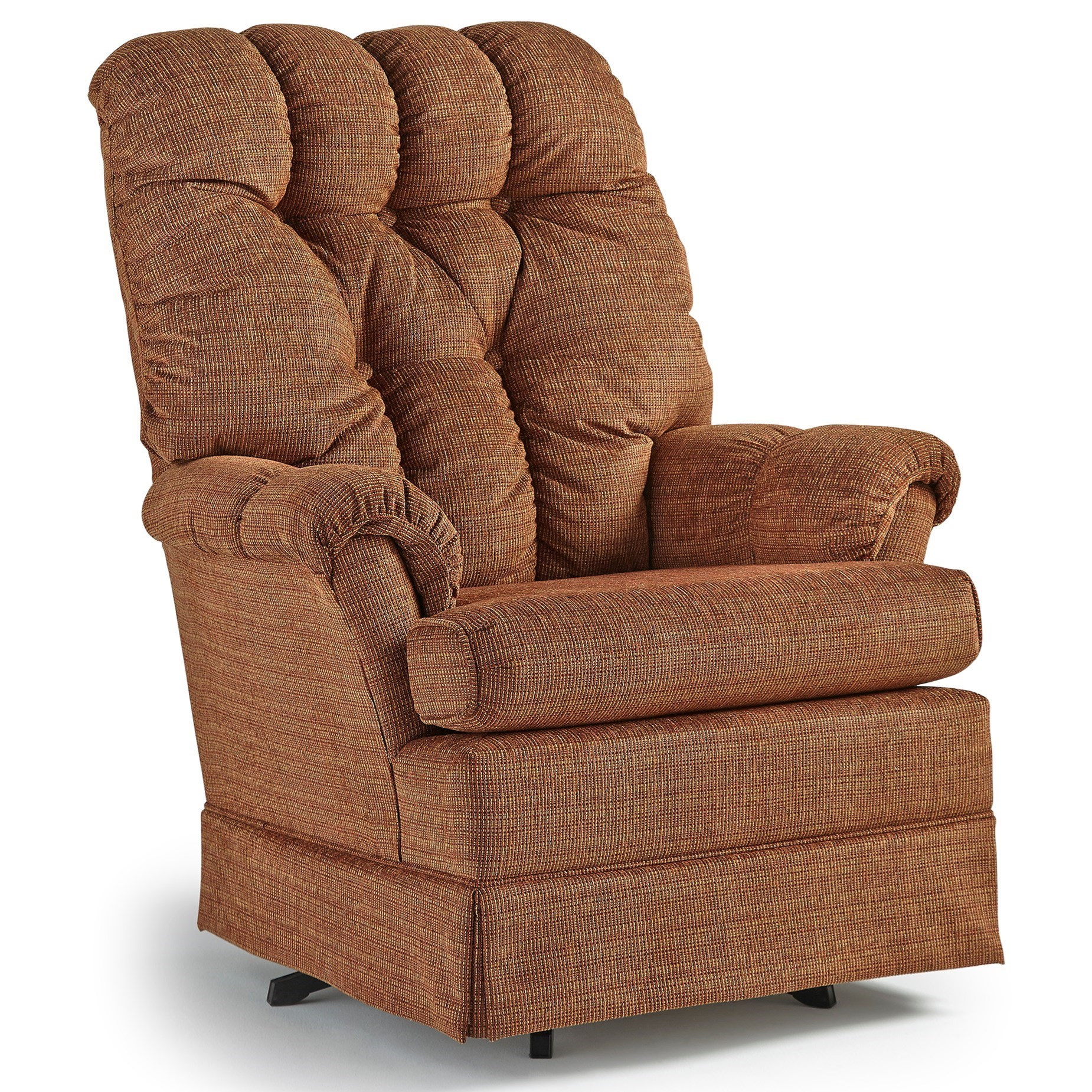 Best Home Furnishings Chairs   Swivel Glide Biscay Swivel Glider Chair