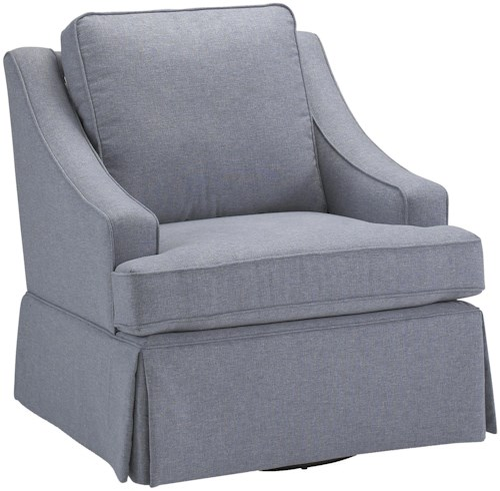 Best Home Furnishings Chairs - Swivel Glide Contemporary Ayla Swivel Rocker Chair