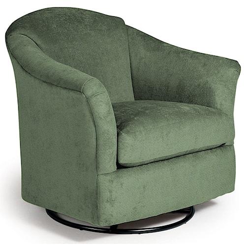 Best Home Furnishings Chairs - Swivel Glide Darby Swivel Glider Chair