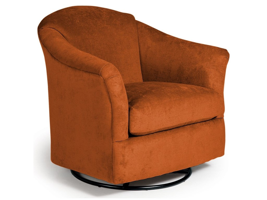 Best Home Furnishings Swivel Glide ChairsDarby Swivel Glider