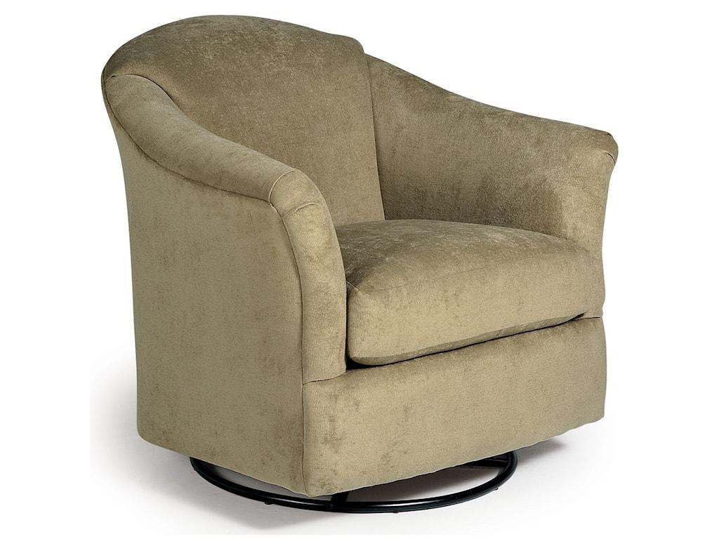 best home furnishings swivel glide chairs 2877 darby swivel glider