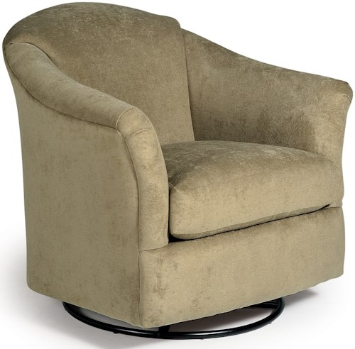 Best Home Furnishings Chairs - Swivel Glide Darby Swivel Glider Chair