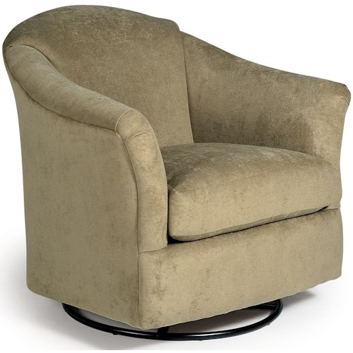 Best Home Furnishings Swivel Glide Chairs Darby Swivel Chair