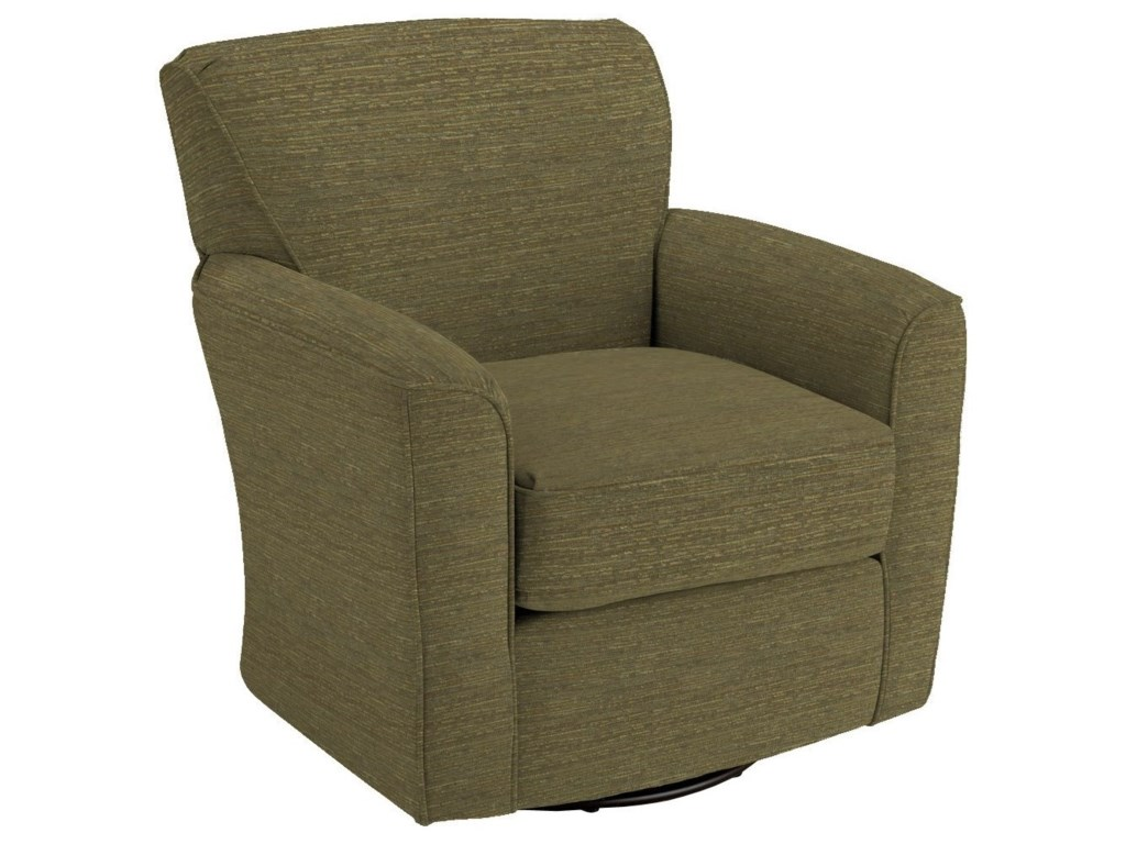 Best Home Furnishings Swivel Glide ChairsKaylee Swivel Barrel Chair