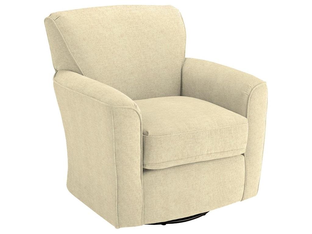 Best Home Furnishings Swivel Glide ChairsKaylee Swivel Barrel Chair