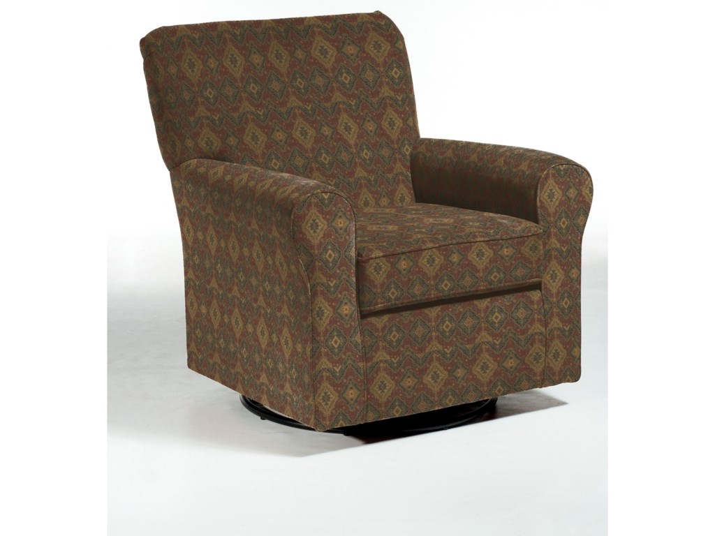 Best Home Furnishings Swivel Glide ChairsHagen Swivel Glide