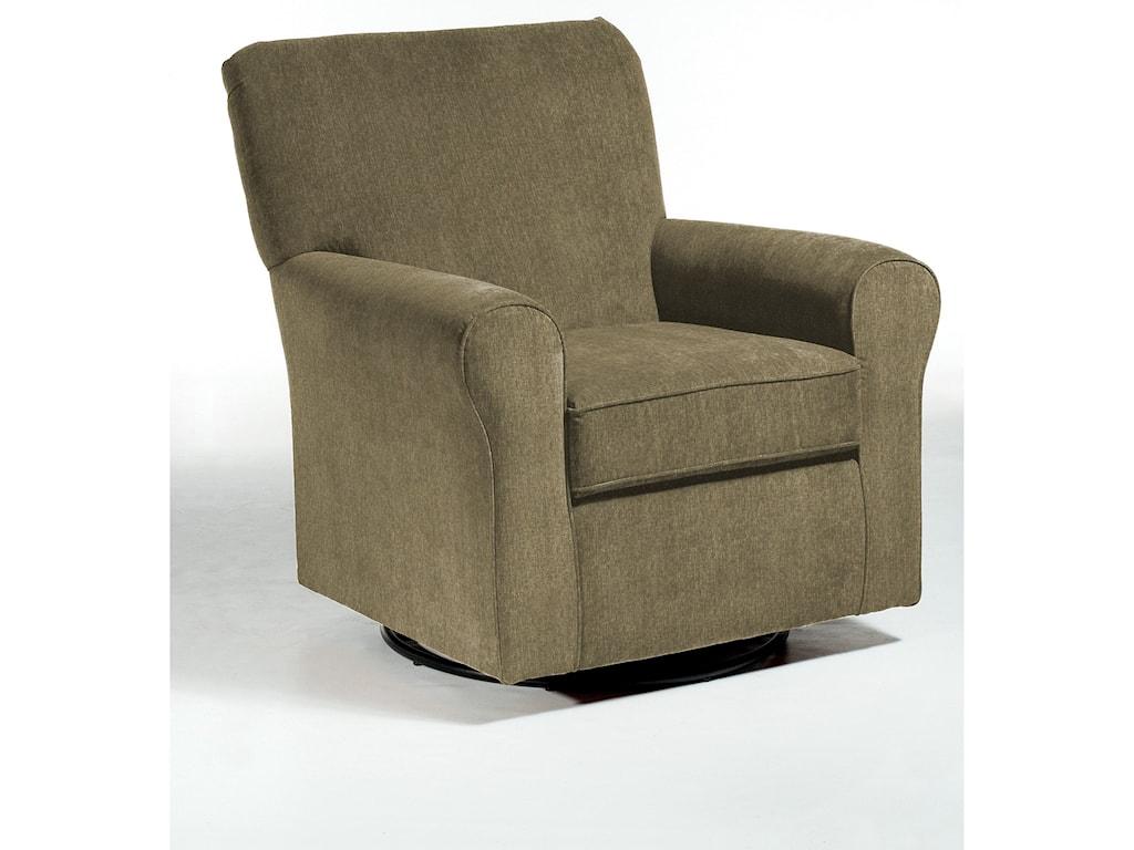 Best Home Furnishings Swivel Glide ChairsHagen Swivel Glide
