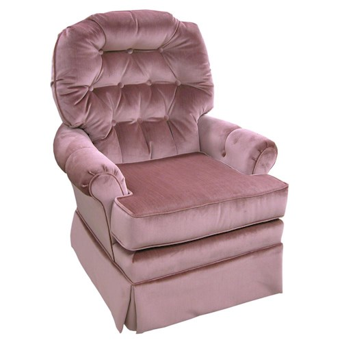 Best Home Furnishings Chairs - Swivel Glide Jadyn Swivel Glide Chair