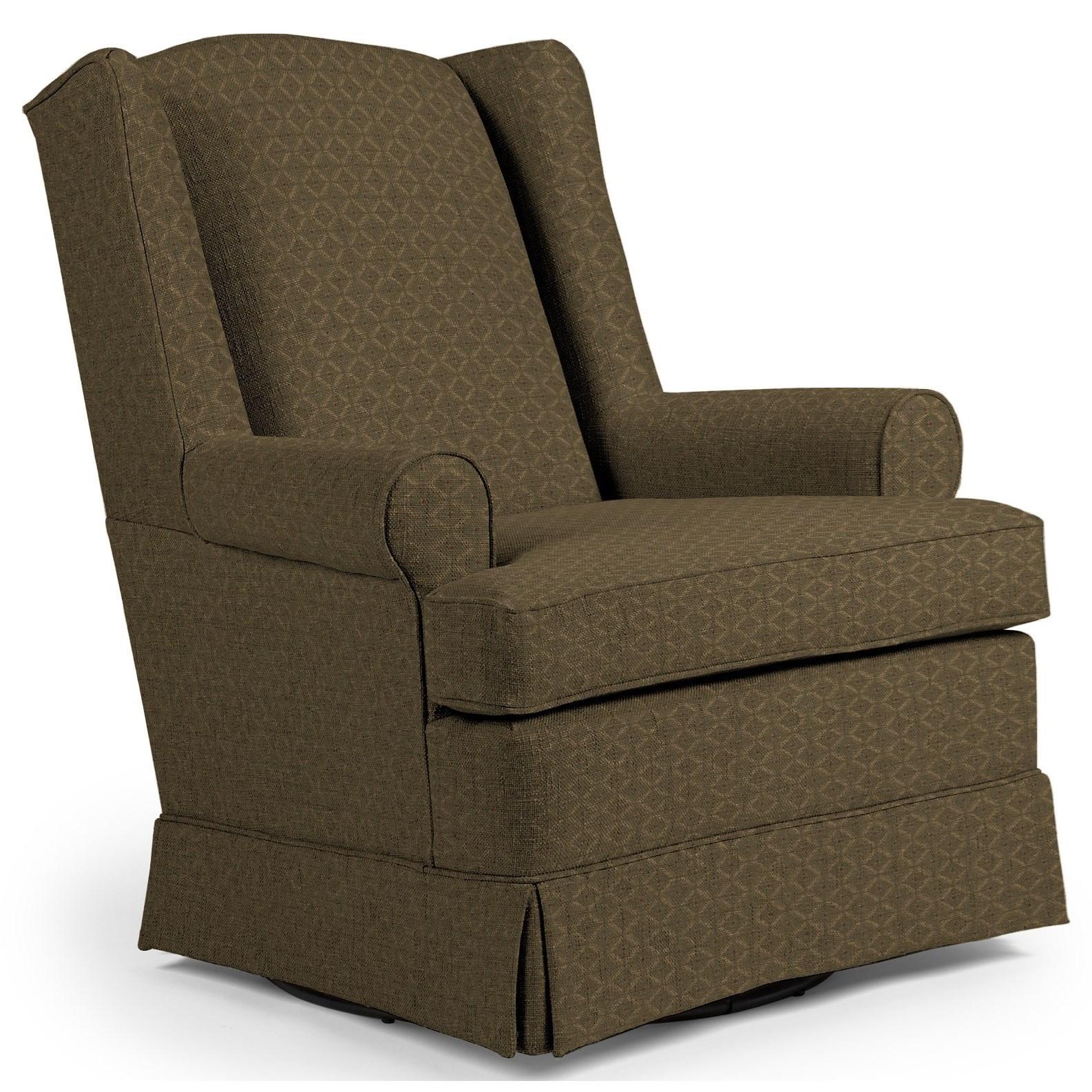 Swivel Glide Chairs Roni Swivel Glider Chair