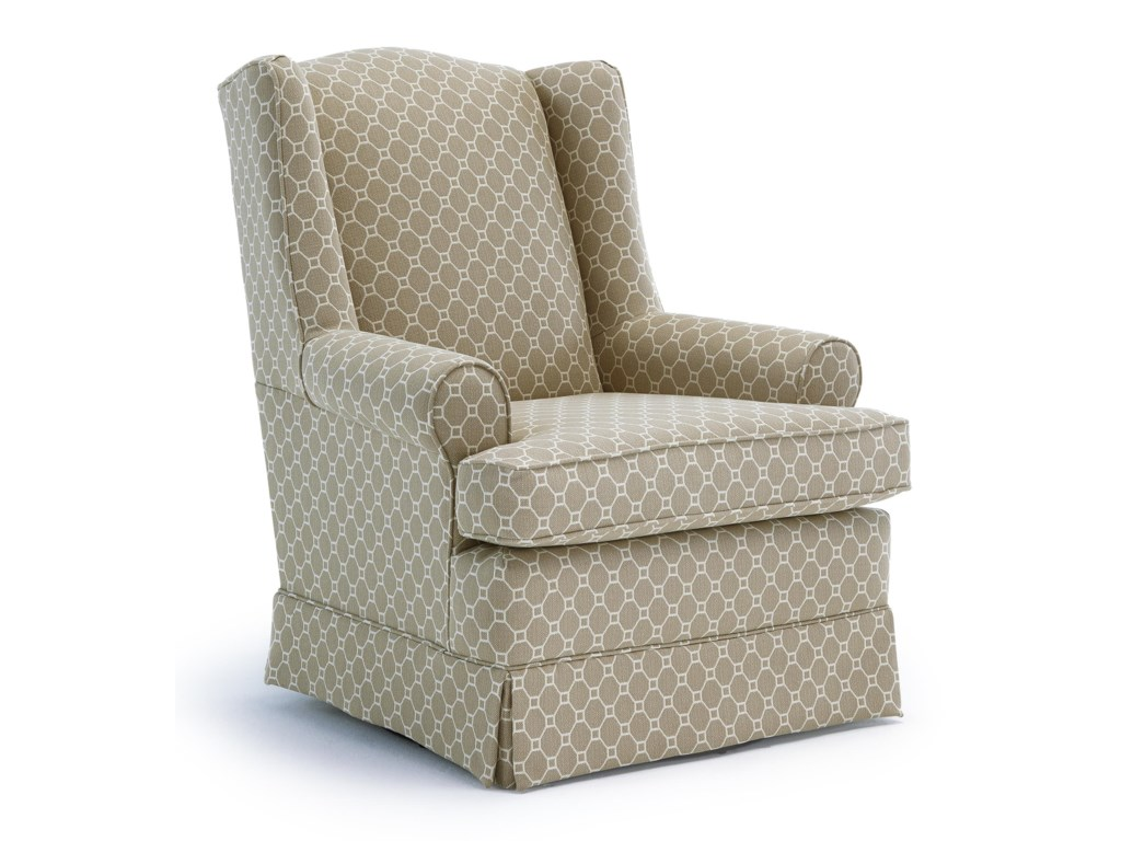 Best Home Furnishings Chairs - Swivel GlideRoni Swivel Glider Chair