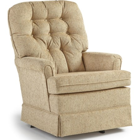 Joplin Swivel Rocker Chair