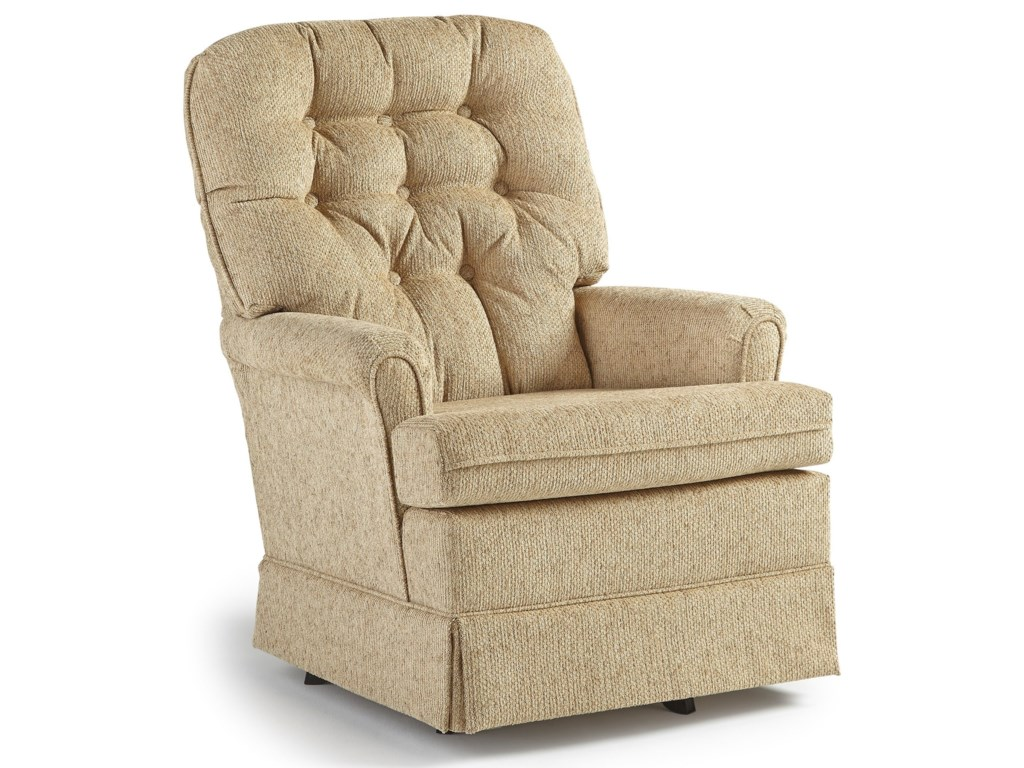 Best Home Furnishings Swivel Glide ChairsJoplin Swivel Rocker Chair