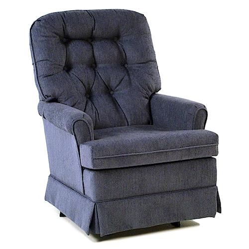 Best Home Furnishings Chairs - SGR Swivel Rocker Chair