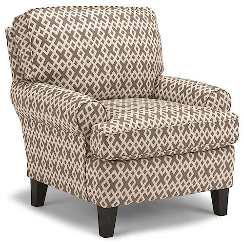 Best Home Furnishings Club Chairs Mayci Chair