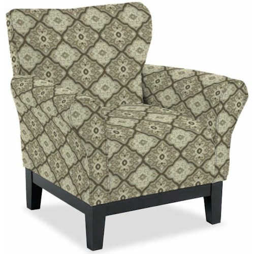 Best Home Furnishings Club Chairs Pelican Gray Chair